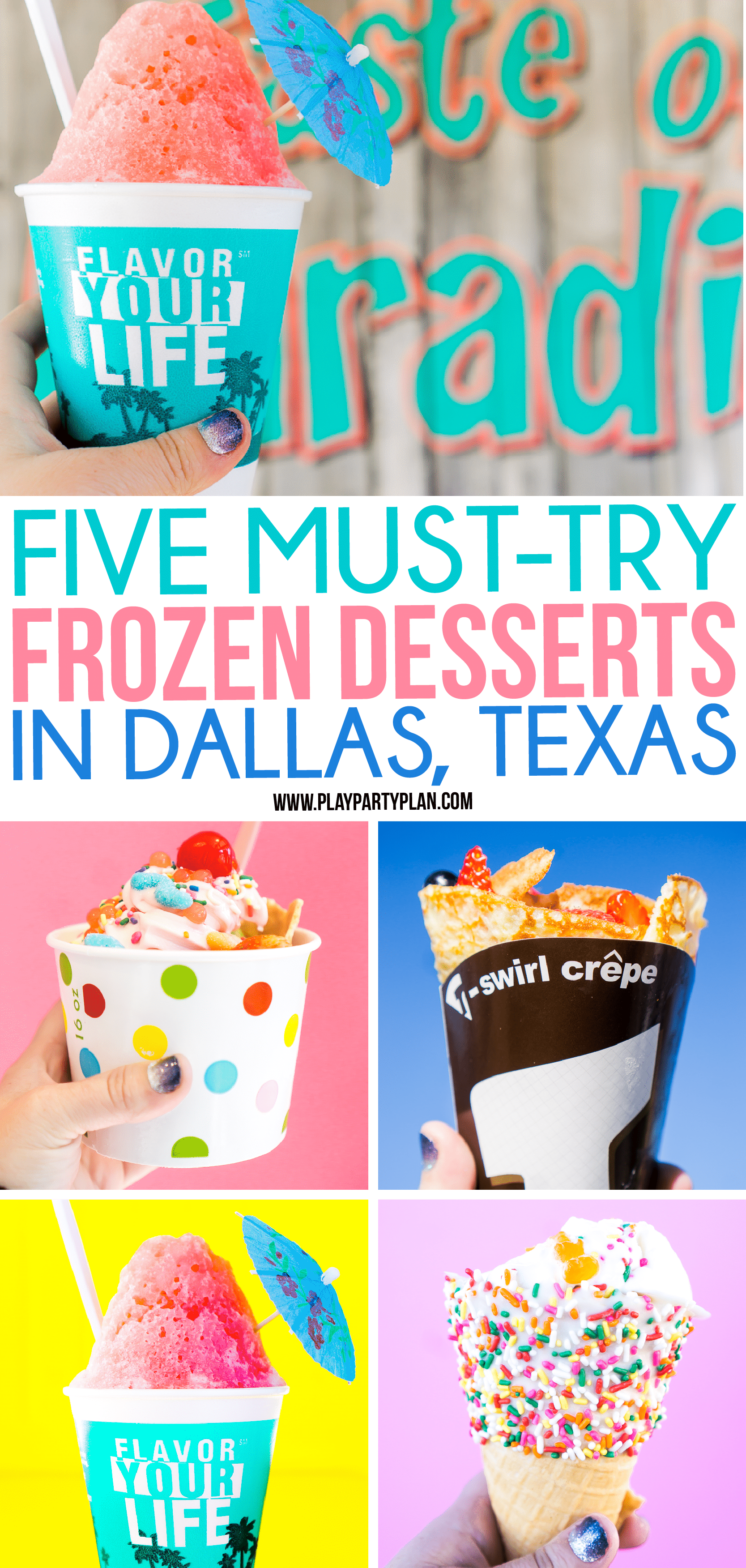 Next time you're in Dallas, Texas make sure you add checking out these dessert restaurants to your list of things to do! And save money on them by using the Groupon+ app to get money back! via @playpartyplan