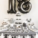 All the best black and white party ideas