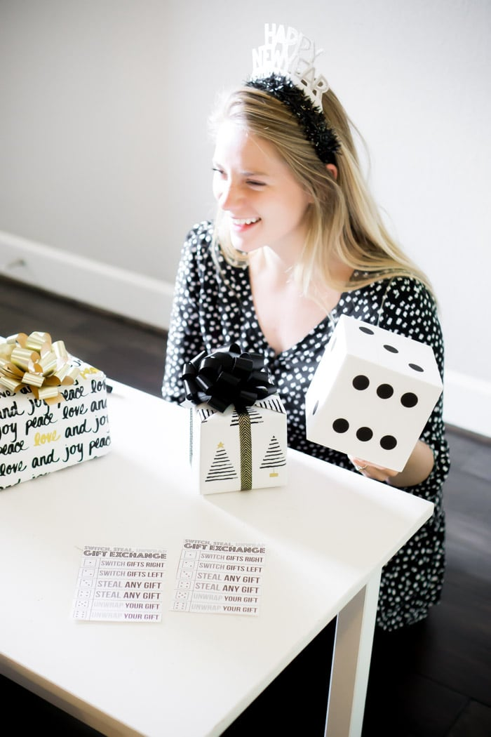 Fun black and white party games