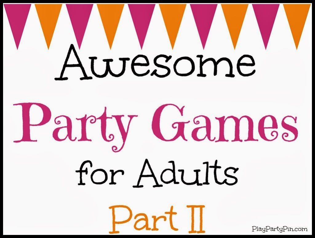 Party-games-for-adults-part-II