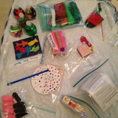 Busy Bag Swap Tips