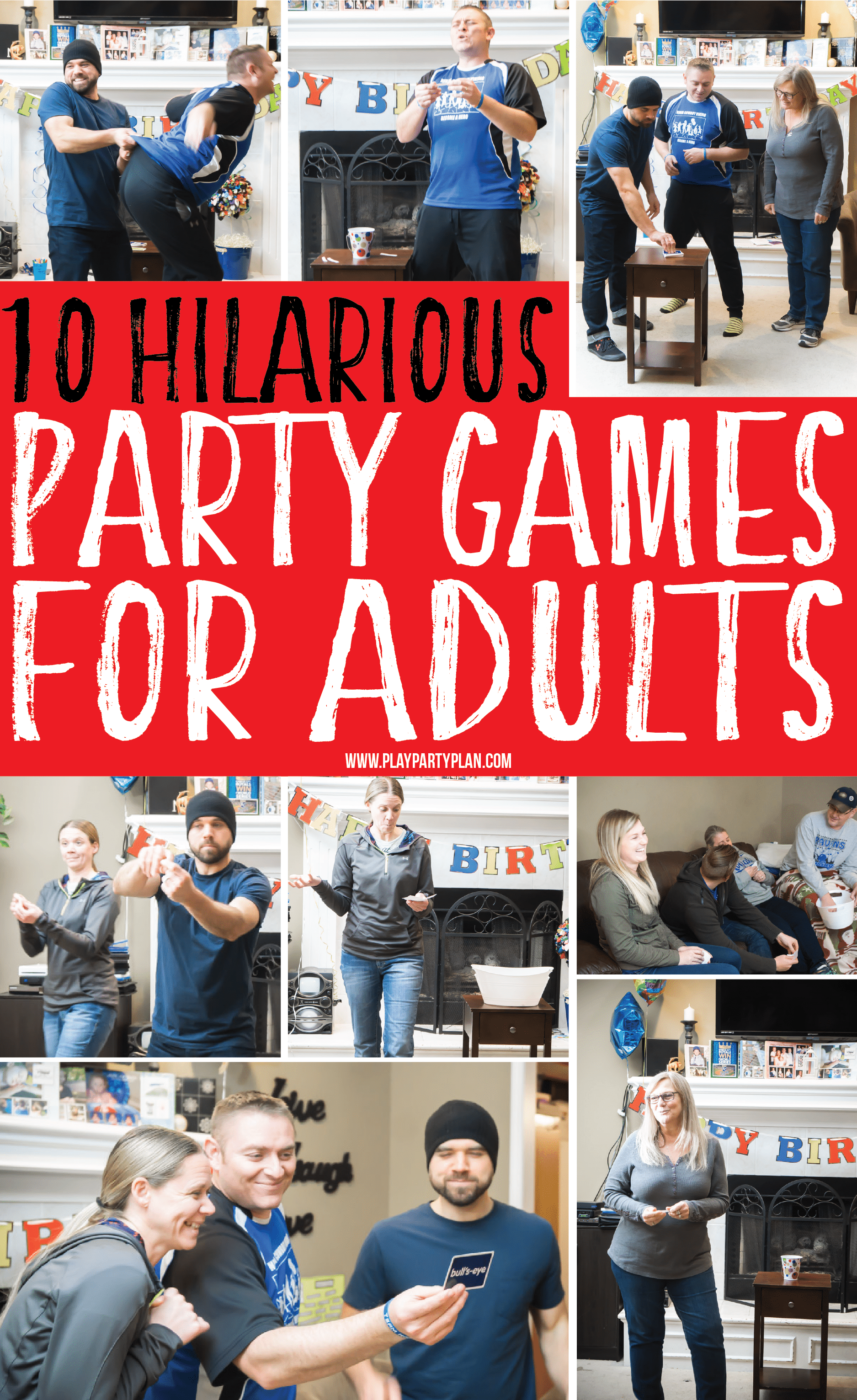 Party games for adults funny