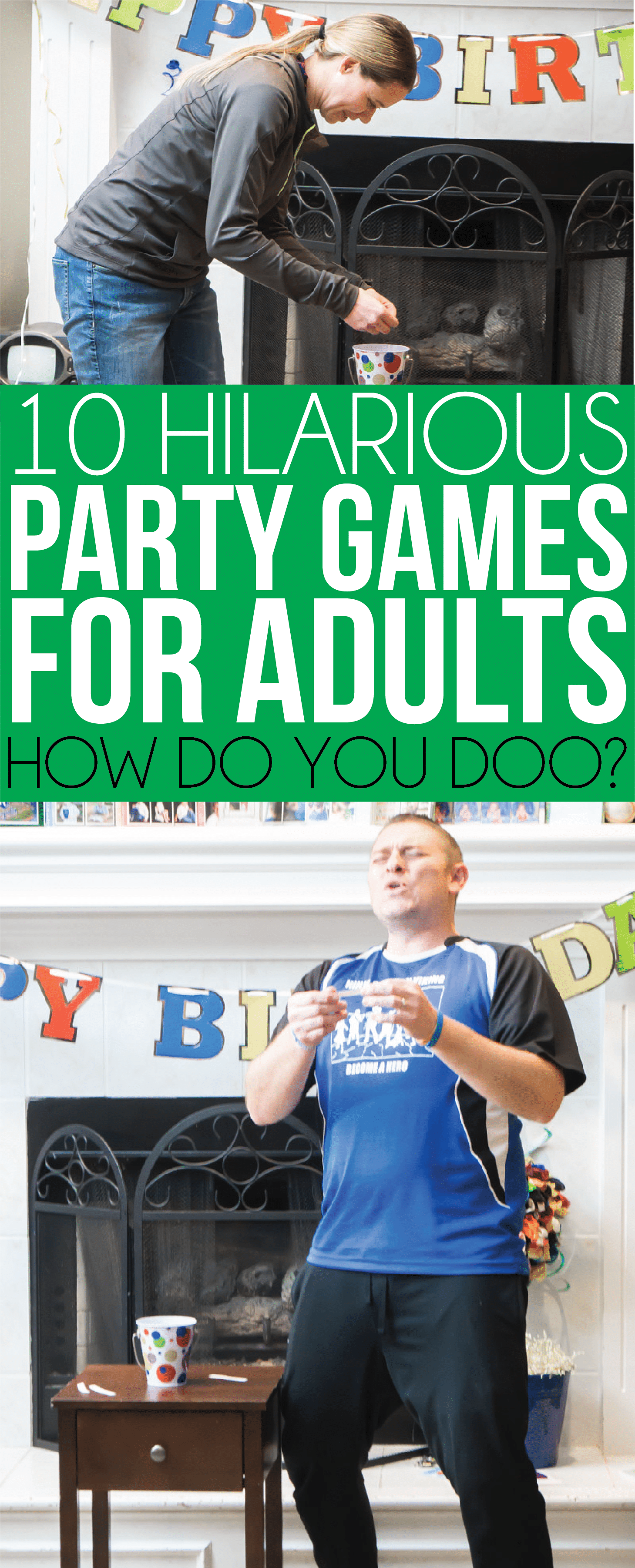 House party games | Party games for adults