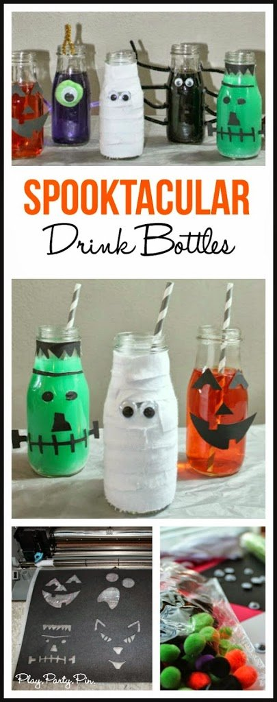 Such a fun idea for a Halloween party, love all of the different characters