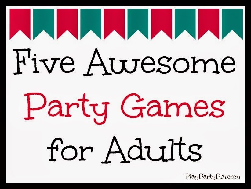 activities for adult birthday party