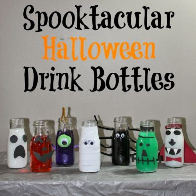 Spooktacular Halloween Drink Bottles