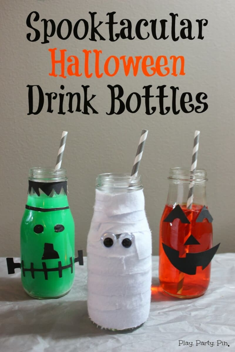 Halloween party food ideas and printable labels