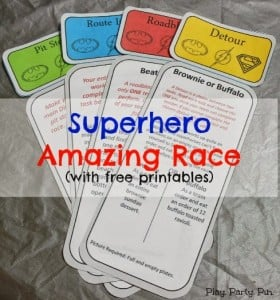 how to plan an amazing race