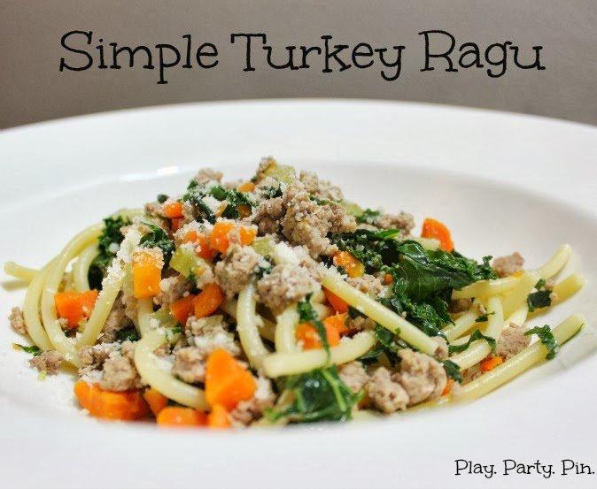 Turkey ragu pasta recipe
