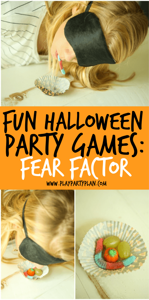 fun halloween party games for kids costume change 1 person - Halloween Fear Factor Games