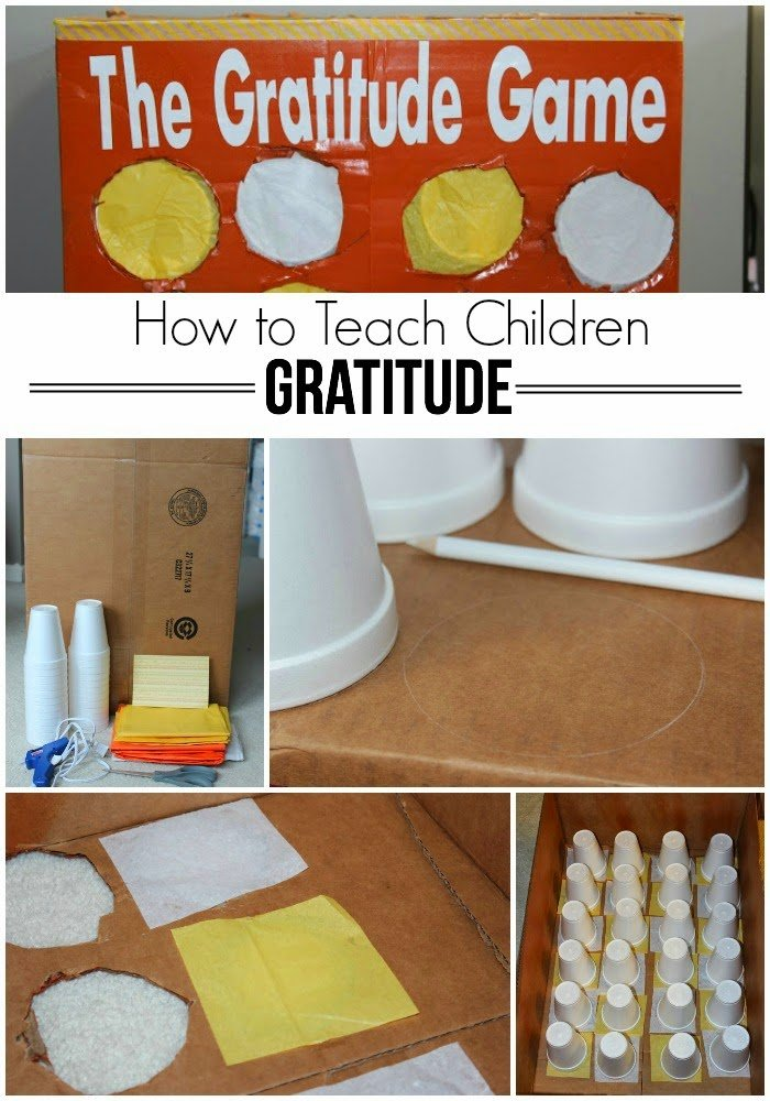 Kids Calendar With Activity Stickers : How to teach children gratitude the game play