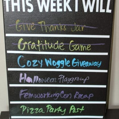DIY Chalkboard To-Do List