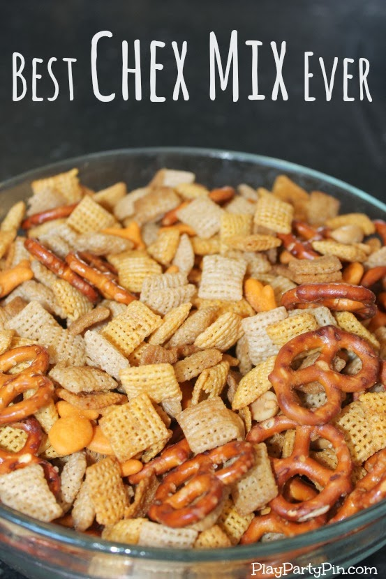 Pin Project: Best Chex Mix Ever - Play.Party.Plan