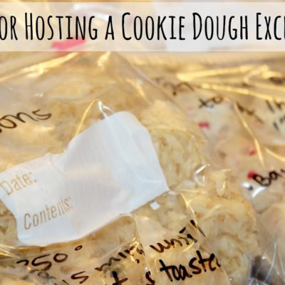 How to Host a Great Cookie Dough Exchange