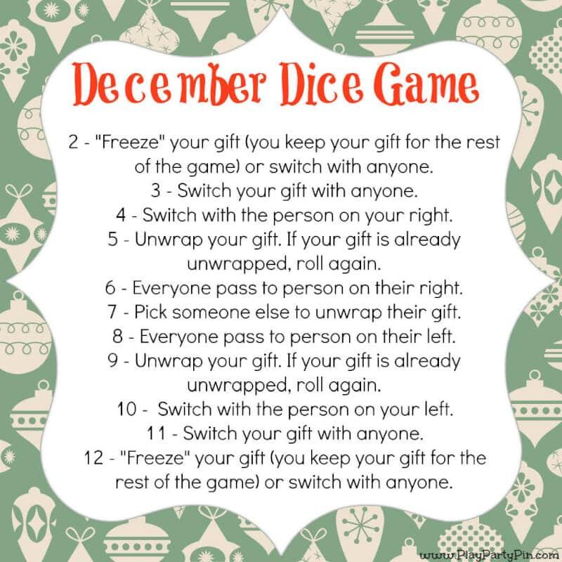 secret santa game instructions
