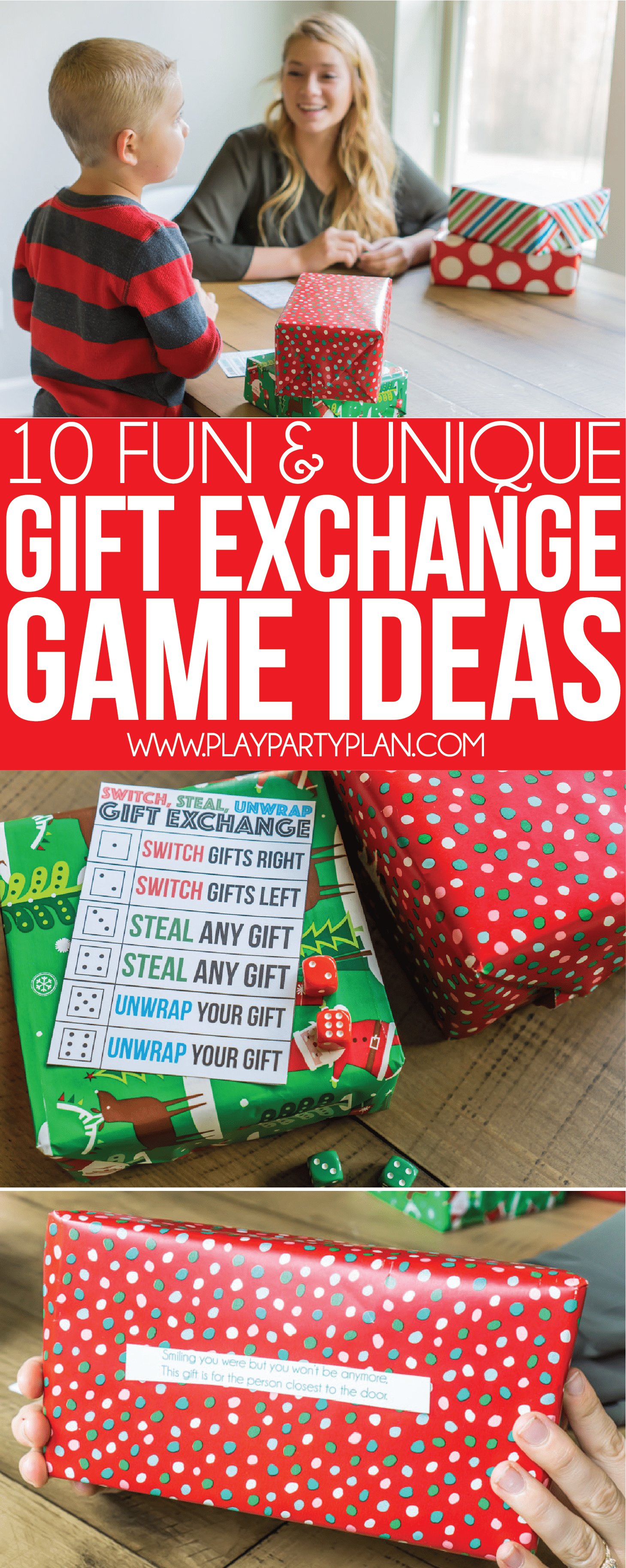 11 Fun & Creative Gift Exchange Games You Have to Try - Play Party Plan