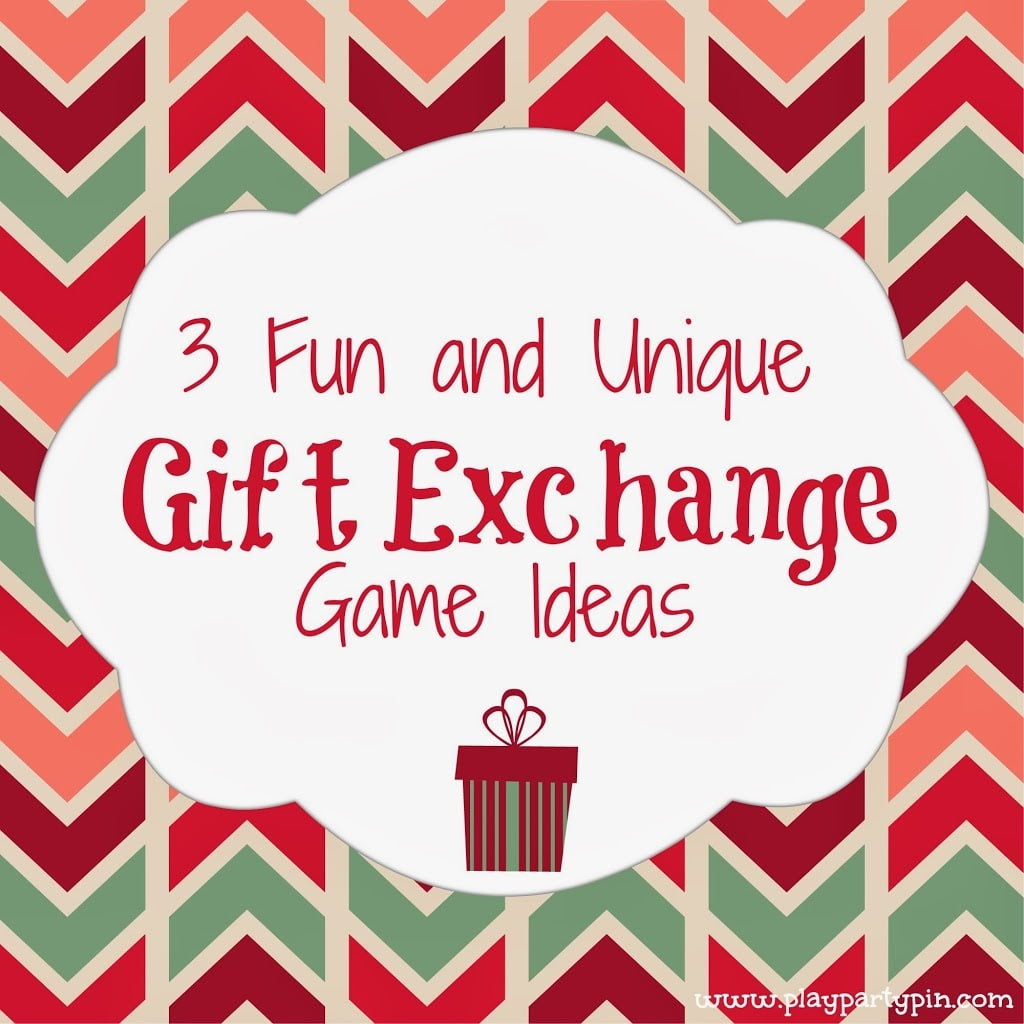 Christmas Party Games Ideas For Adults: Gift Exchange Ideas