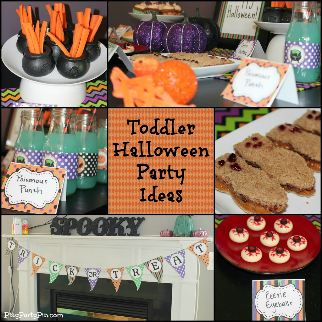 Halloween Party Ideas For Toddlers {Giveaway}