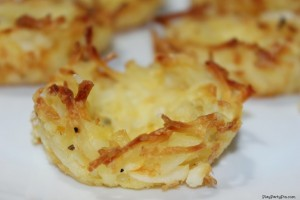 Simple hash brown cups by playpartypin.com  #OreIdaHashbrn #shop #cbias