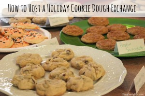 How to Host an Awesome Cookie Dough Exchange