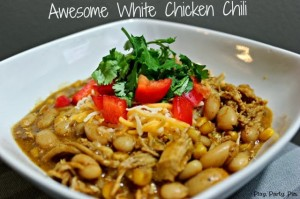 White chicken chili by playpartypin.com