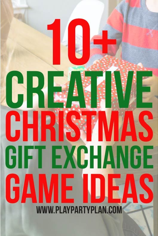 12 Best Christmas Gift Exchange Games - Play Party Plan