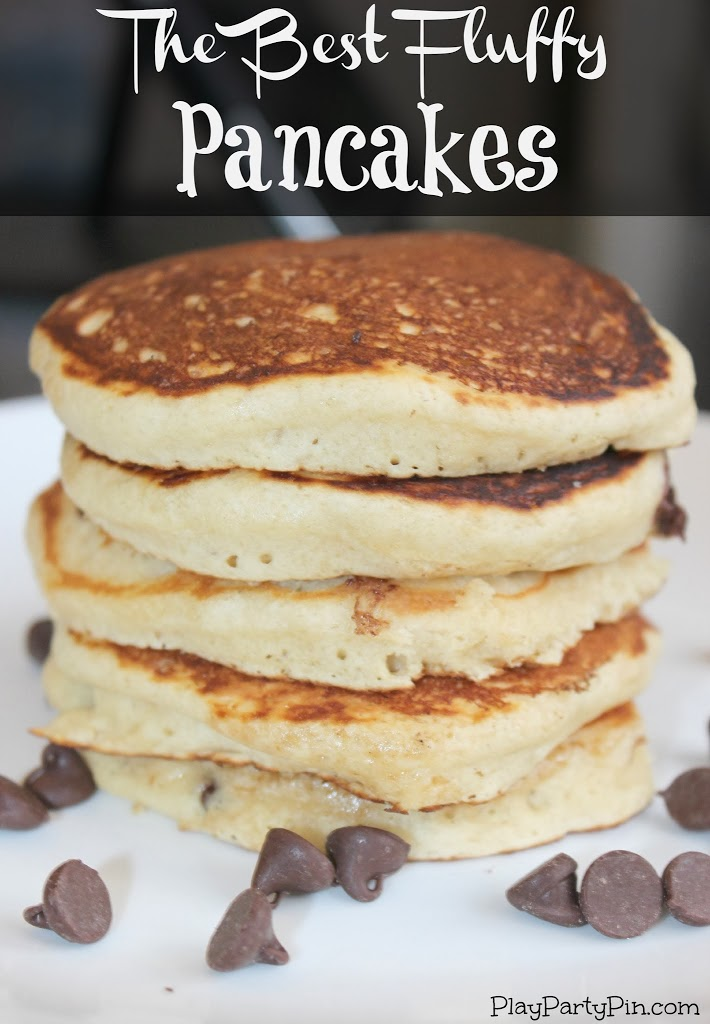 Pin Project The Best Fluffy Pancakes Play Party Plan