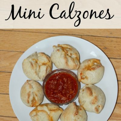Quick Mini Calzones and #PamSmartTips for Muffin Tin Cooking {Giveaway}