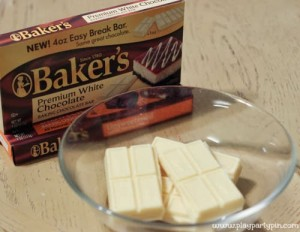 white baking chocolate
