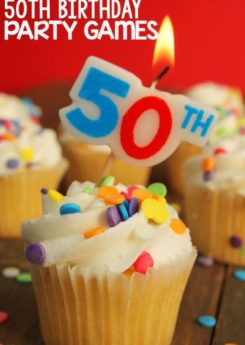 Love these 50th birthday party games, awesome list of songs from the past 50 years!