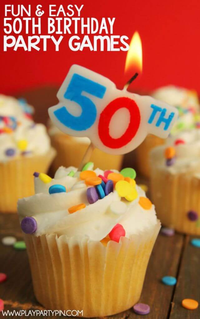 Ridiculously Easy 50th Birthday Party Ideas That Don T