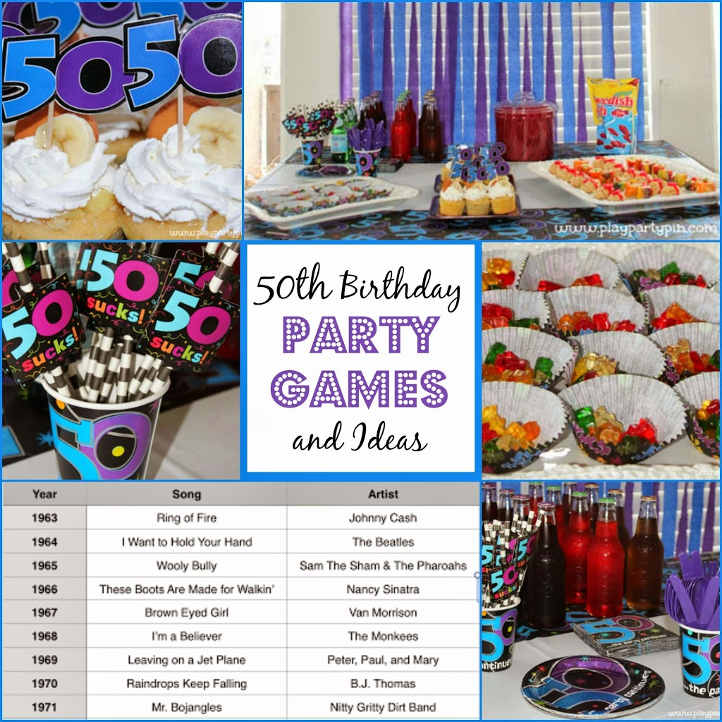50th birthday party games and ideas for 50 birthday party decoration ideas