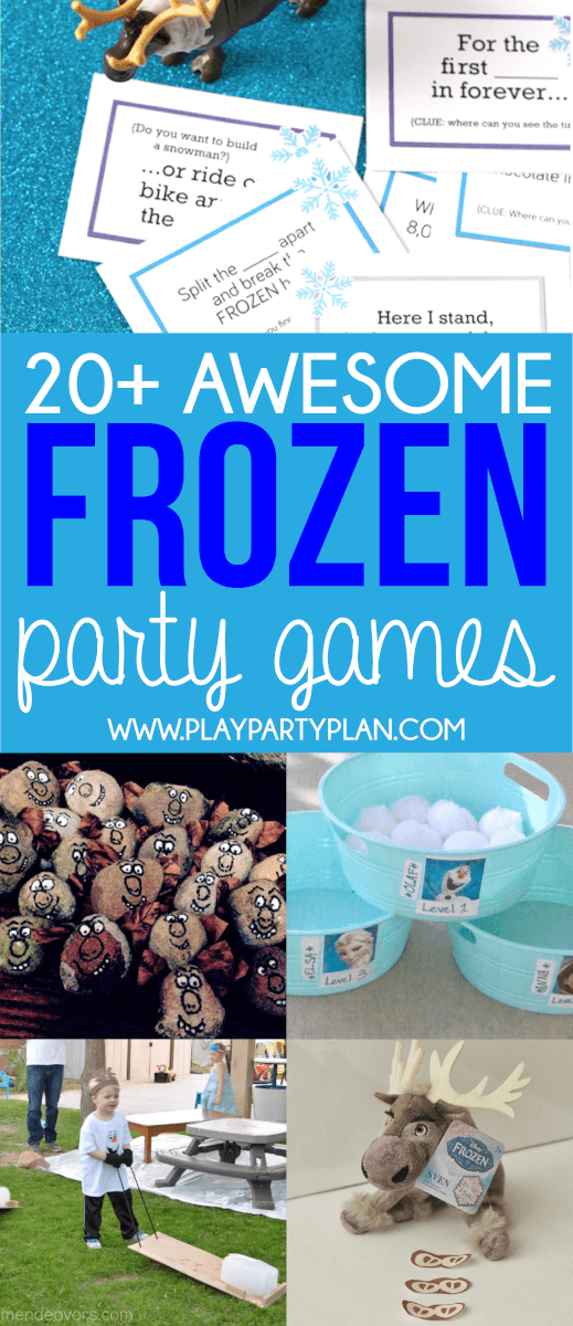 20 disney frozen party games that are better than a warm hug dont forget to pin these frozen party games for later solutioingenieria Image collections