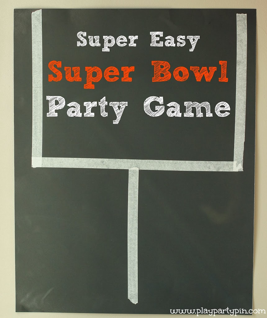 easy super bowl party game