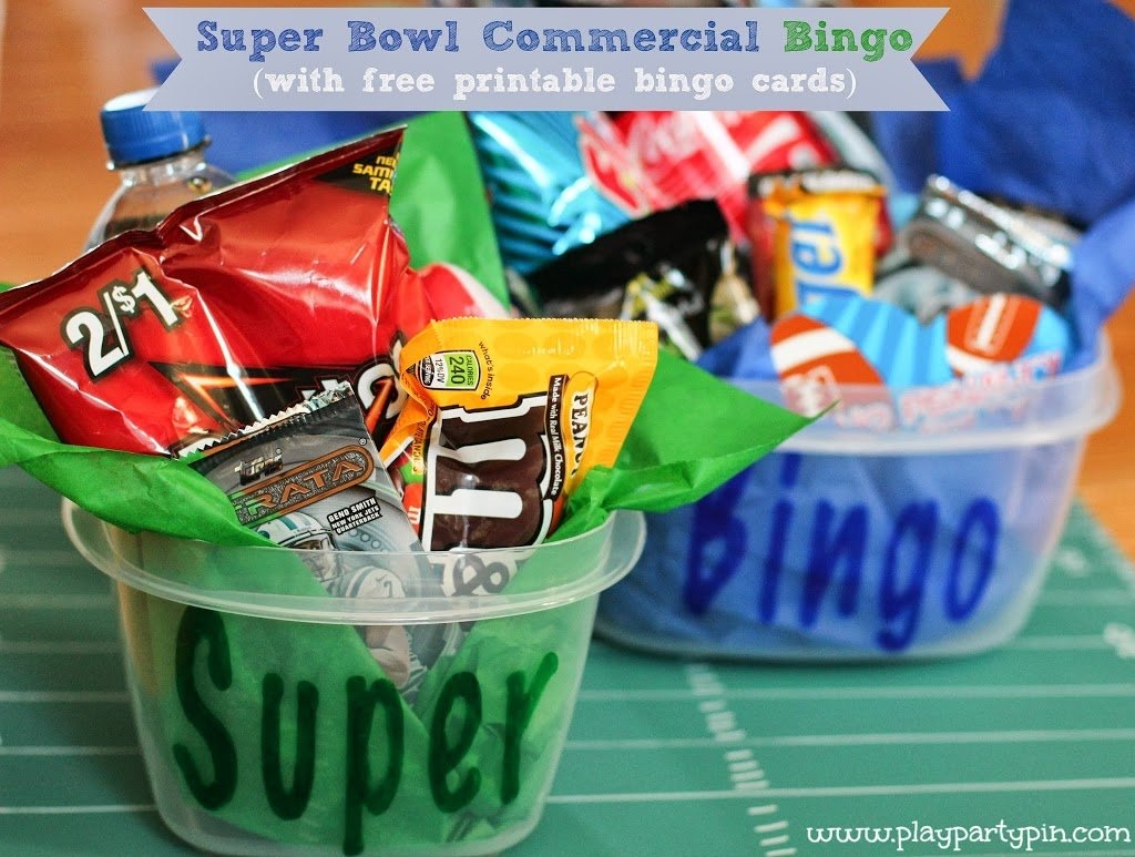 Super Bowl Party Game And Prize Ideas Super Bowl