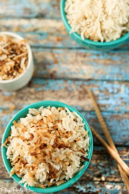 This coconut rice recipe looks so yummy, the perfect Asian side dish!