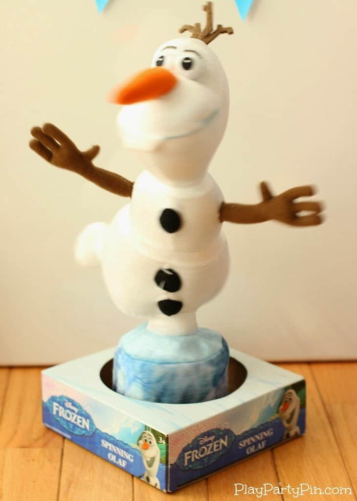 Spinning Olaf Toy