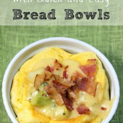 Quick and Easy Homemade Bread Bowls