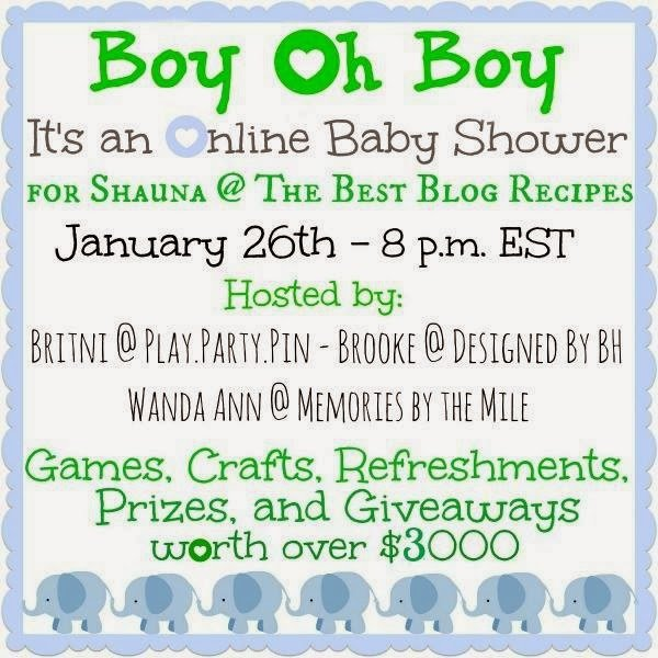 baby shower giveaway winners play party pin