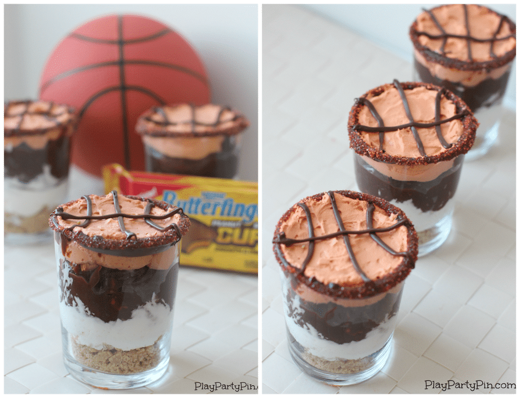 Smooth and crunchy Butterfinger Delight from playpartypin.com will be one of your #NewFavorites #shop #recipe #dessert #basketball
