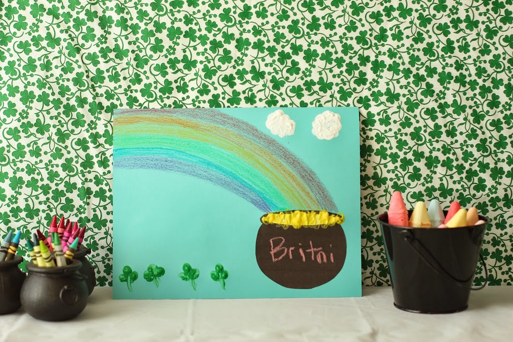 Simple St Patricks Day Craft For Kids With Crayola Playrtyan
