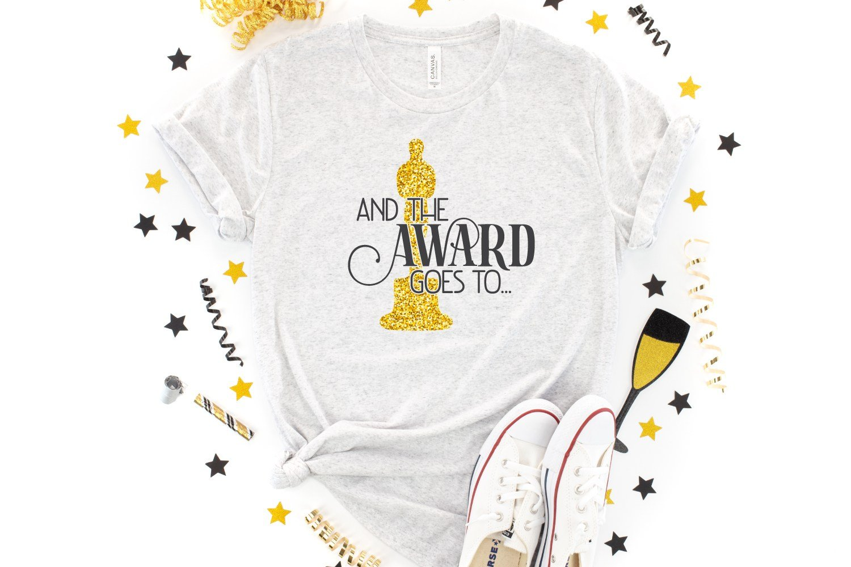 SVG files for Oscar party ideas