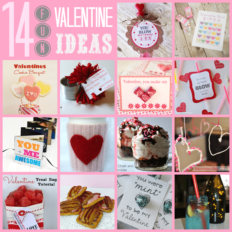 14 fun Valentine's Day ideas #ValentinesDay #crafts #recipes #games