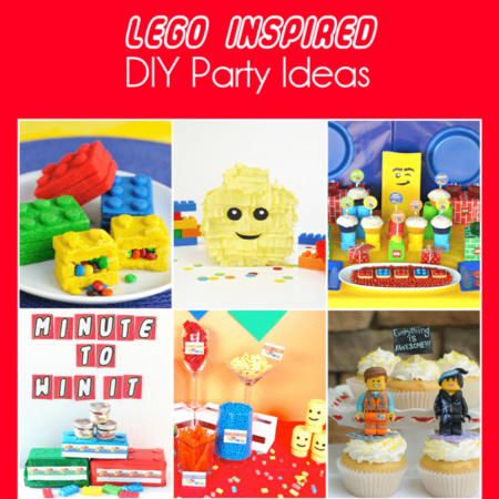 All of the Lego party ideas you would ever need including great Lego party games and more