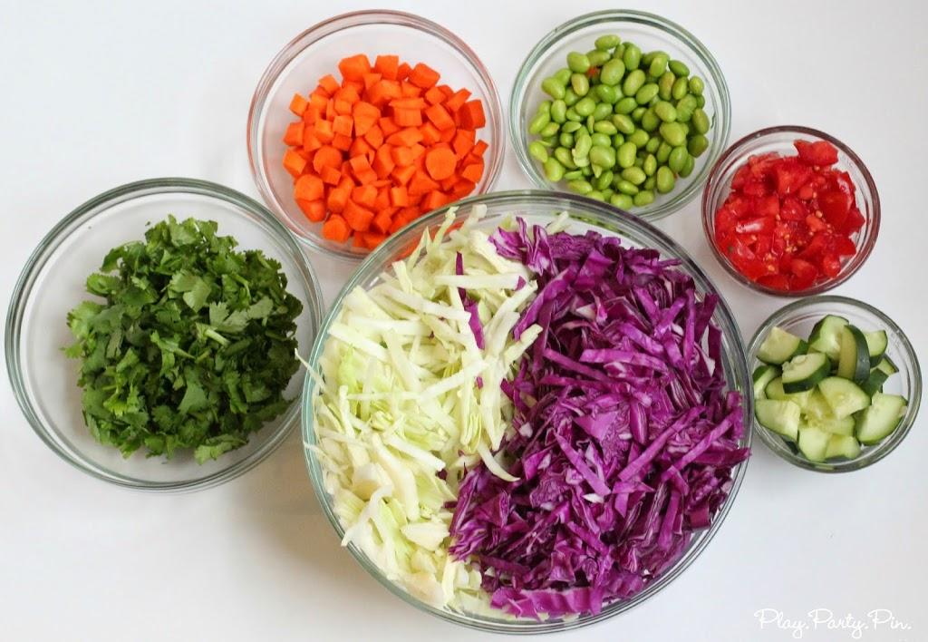 Spring veggies