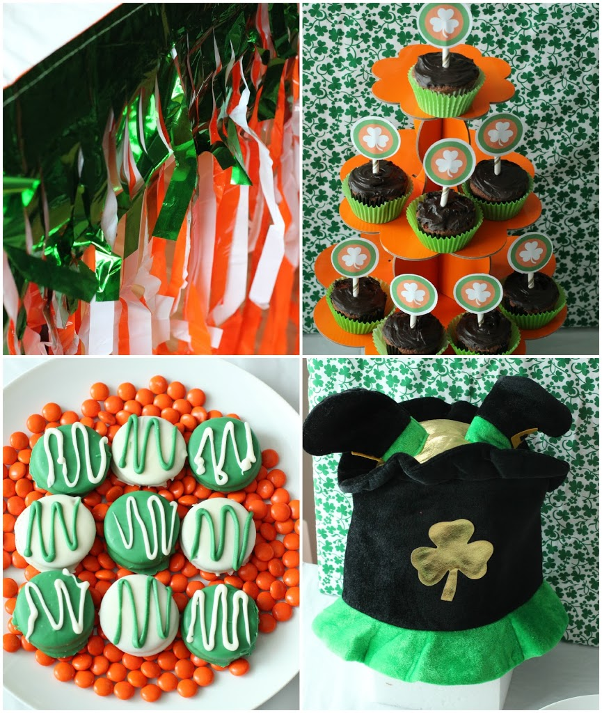 Awesome St. Patrick's Day party ideas and free printables from playpartyplan.com #parties #StPatricksDay #partygames #freeprintables