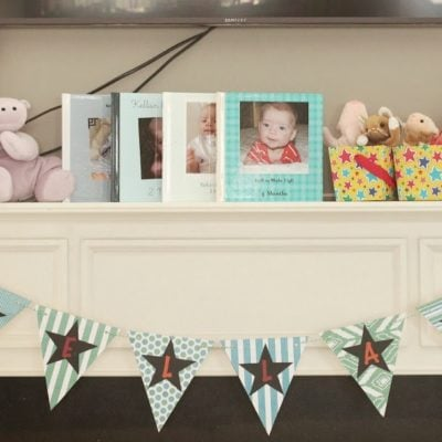 Easy DIY Party Banner and Expressions Vinyl Giveaway