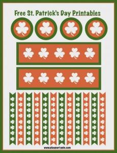 Free St. Patrick's Day printables from playpartypin.com #freeprintables #StPatricksDay