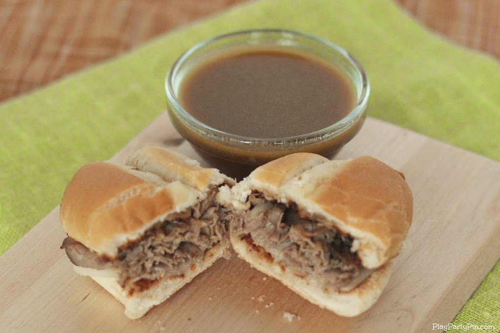 French dip slider