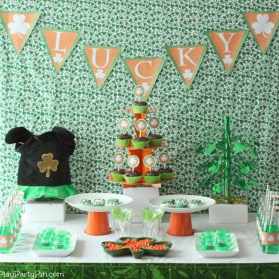 St. Patrick's Day Party Ideas and Free Printables
